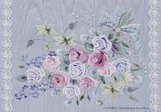 ポストカード バラの花額Ⅱ