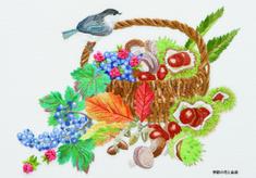 ポストカード 季節の花と鳥Ⅲ