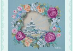 ポストカード 花と夢の世界Ⅰ