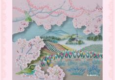 ポストカード 花と夢の世界Ⅱ